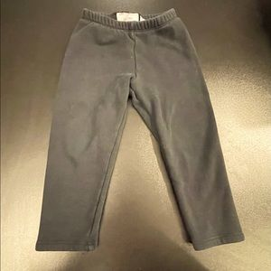 2T black sweatpants from cat and jack.